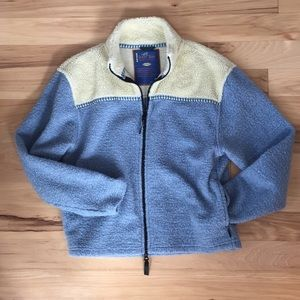 Horny Toad fleece with cool trim jacket size M(?)